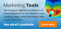 Marketing tools available for REST Report users